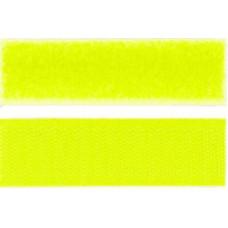 Kardborrband Neon gul,, 50mm