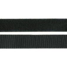 Kardborrband Svart, 50mm