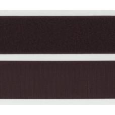 Kardborrband Mörkbrun, 50mm