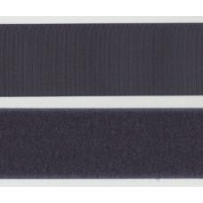 Kardborrband Mörkgrå, 25mm