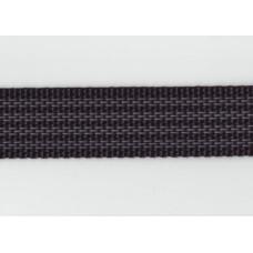 Friktionsband 25mm, Svart, PES