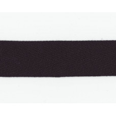 Kantband 25mm, Svart, PES