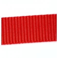 Syntetband 25mm, Röd, PP