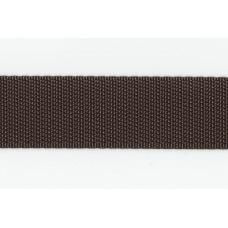 Rem/kantband 25mm, Oliv, PES
