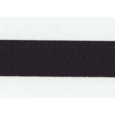 Rem/kantband 25mm, Svart, PES