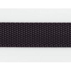 Syntetband 25mm, Svart, PES