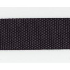 Syntetband 40mm, Svart, PES