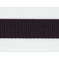 Syntetband 25mm, Svart, PP