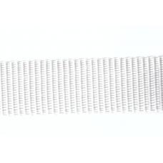 Syntetband 25mm, Vit, PP